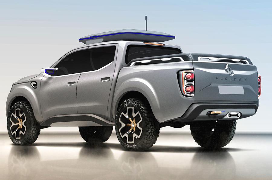 Renault Alaskan production model leaks ahead of reveal | Autocar