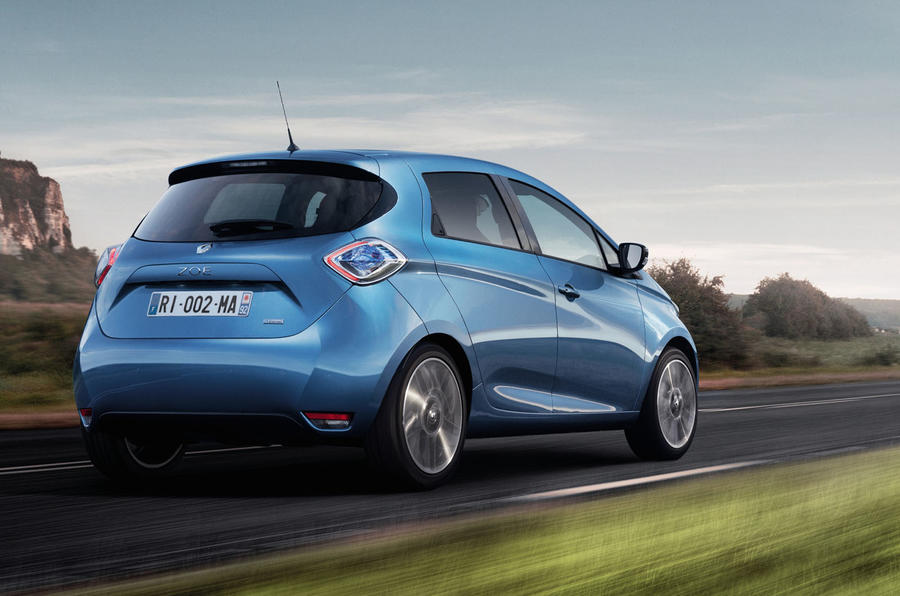 upgraded renault zoe gets 250 mile range autocar. Black Bedroom Furniture Sets. Home Design Ideas