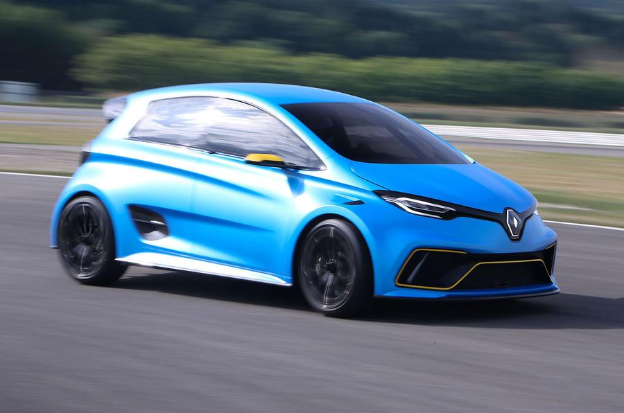 Renault zoe e sport