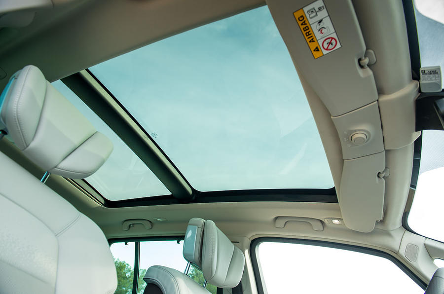 Renault Espace panoramic sunroof