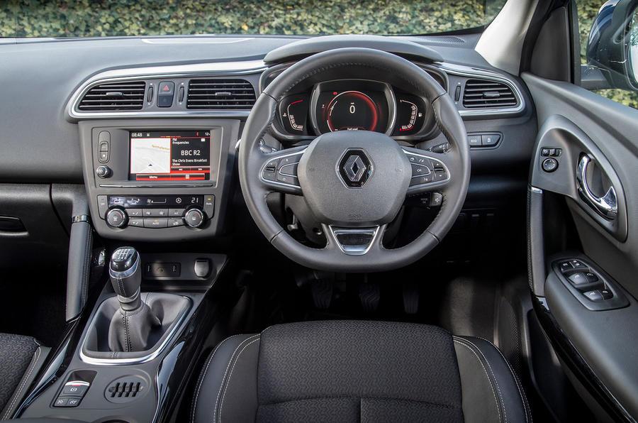 Renault Kadjar dashboard