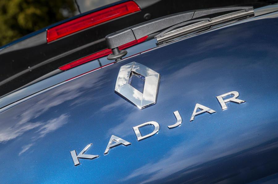 Renault Kadjar badging