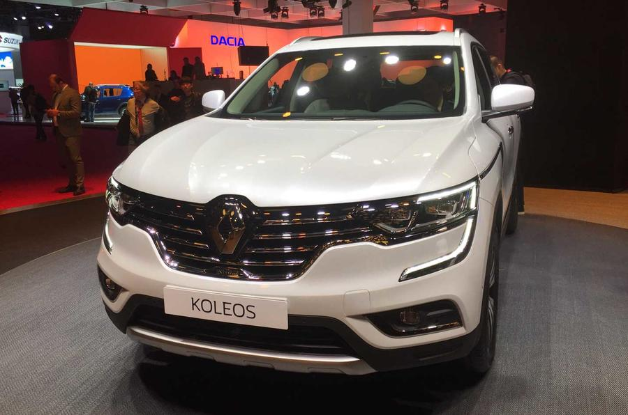 2017 Renault Koleos SUV shown in Paris
