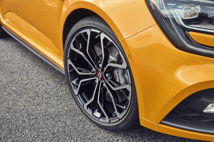 Renault Mégane RS alloy wheels