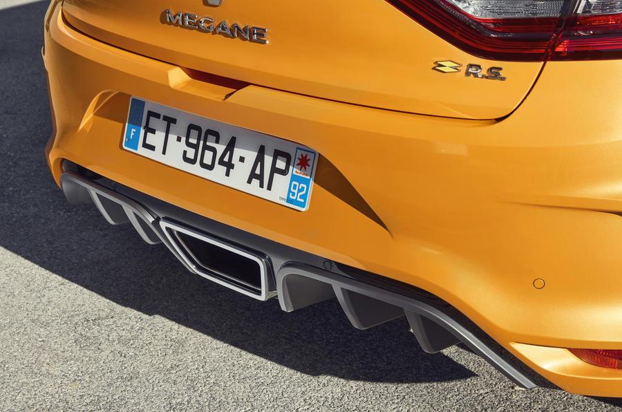 Renault Mégane RS rear diffuser