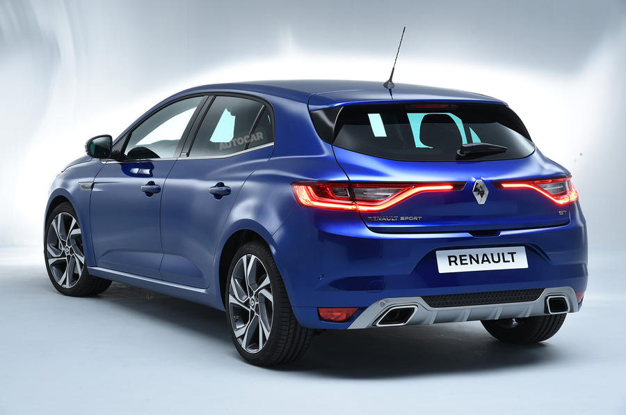 2016 Renault Megane Revealed Exclusive Studio Pictures
