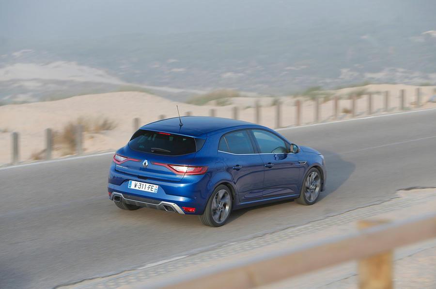 Renault Megane GT rear