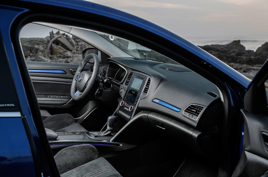 Renault Megane GT front seats