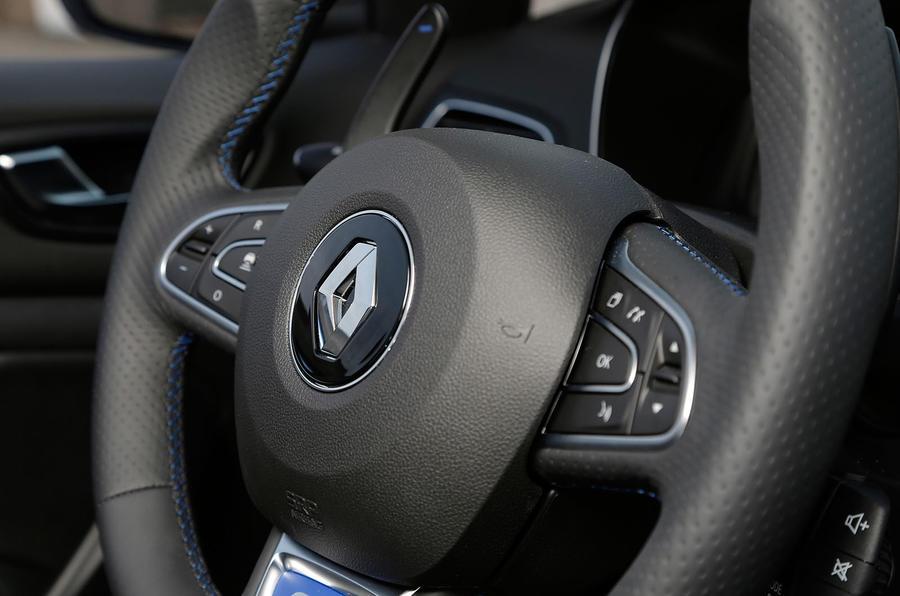 Renault Megane GT steering wheel