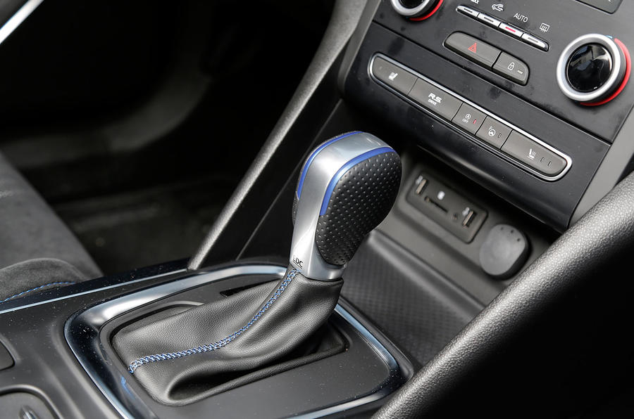 Renault Megane GT automatic gearbox