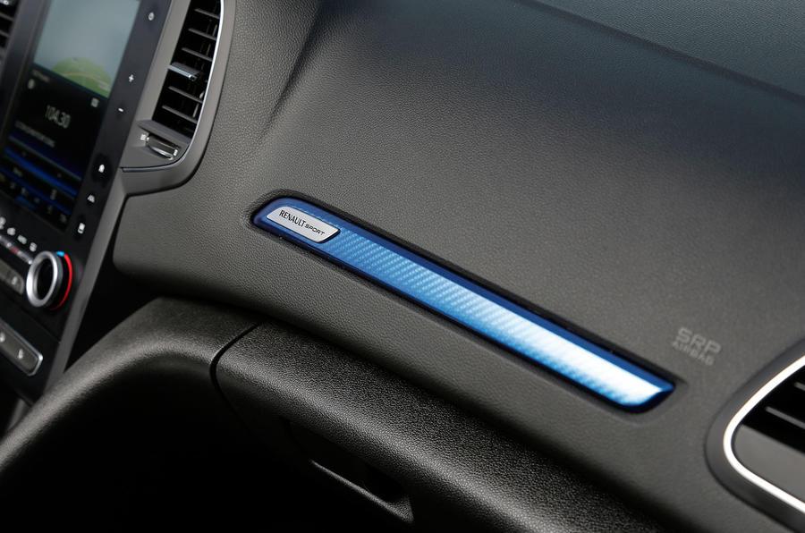 Renault Sport interior details