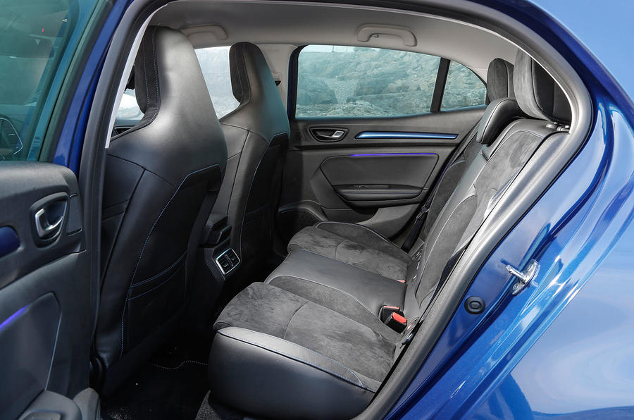 Renault Megane GT rear seats
