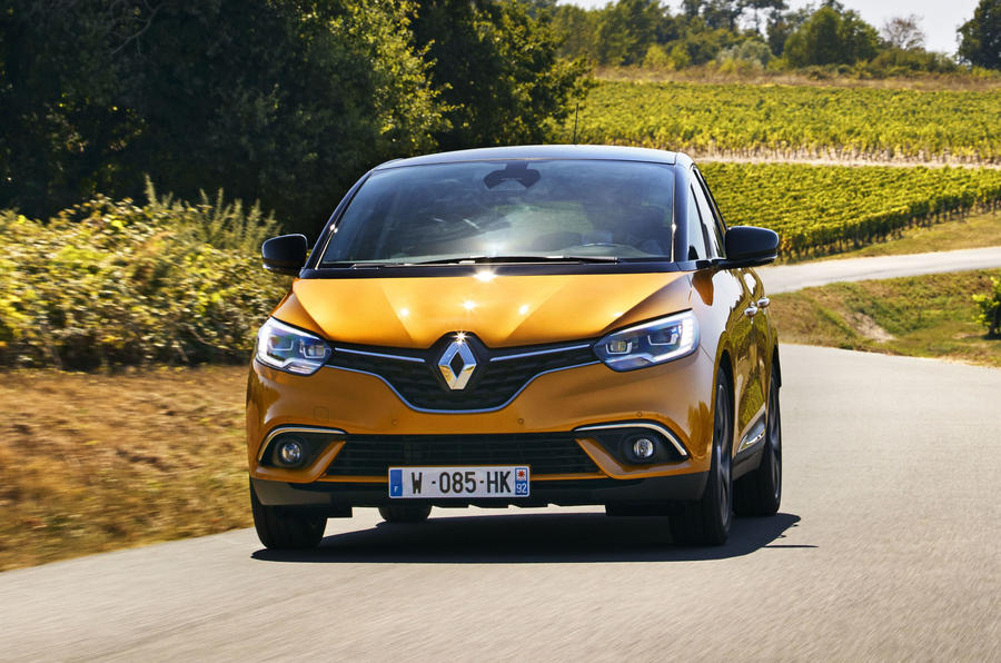 Renault Scenic front end