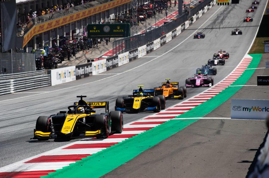 Renault Formula racing