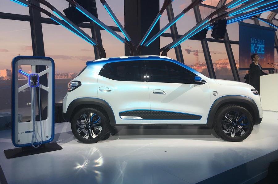 Renault K-Ze concept Paris Motor Show 2018 stand reveal