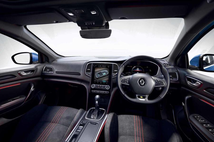 Renault Megane facelift interior