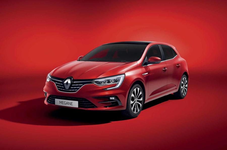 Renault Megane facelift red