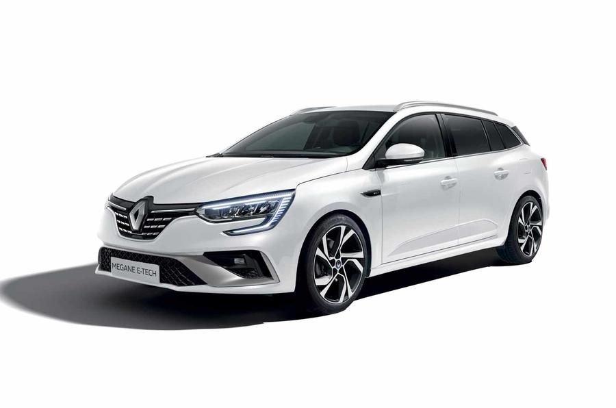 Renault Megane facelift Sports Tourer hybrid