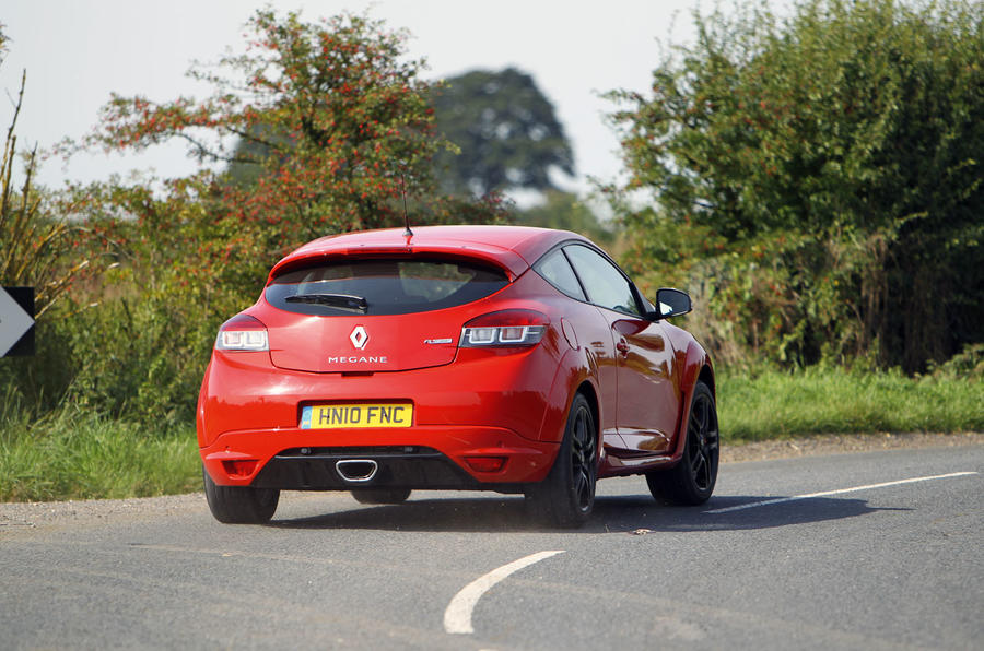 Renault Megane RS 2010 - rear