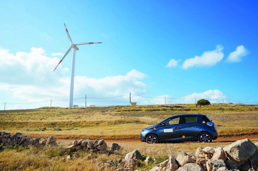 Porto Santo's EV infrastructure