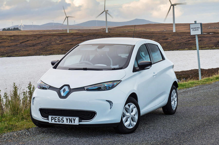 Renault Zoe 2015 - stationary front