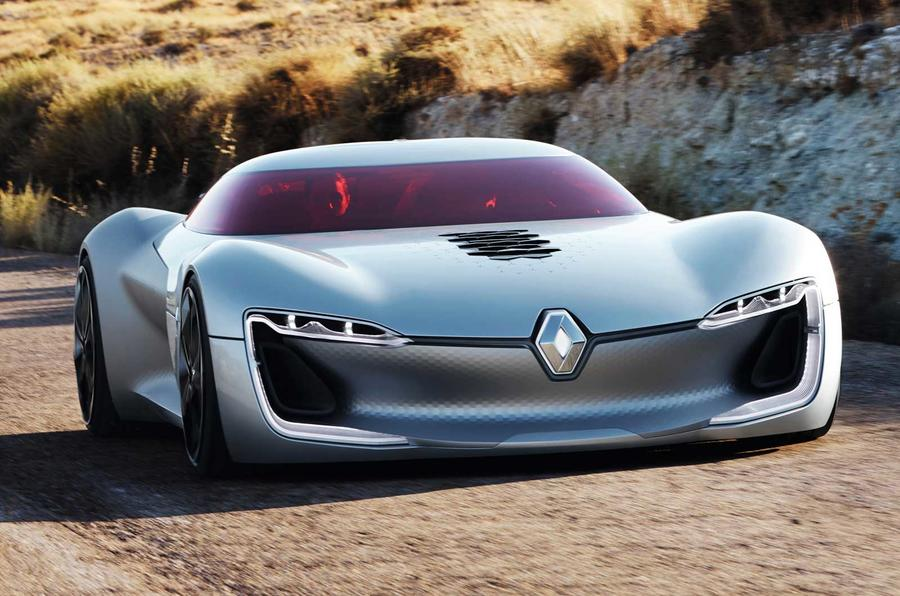 Renault Trezor Concept Revealed At Paris Motor Show Autocar