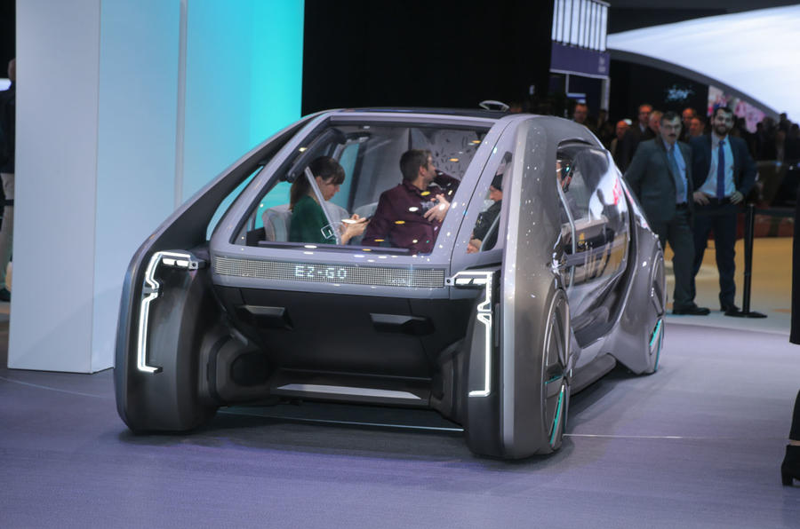 Renault urban concept is a taxi or a bus - or both!
