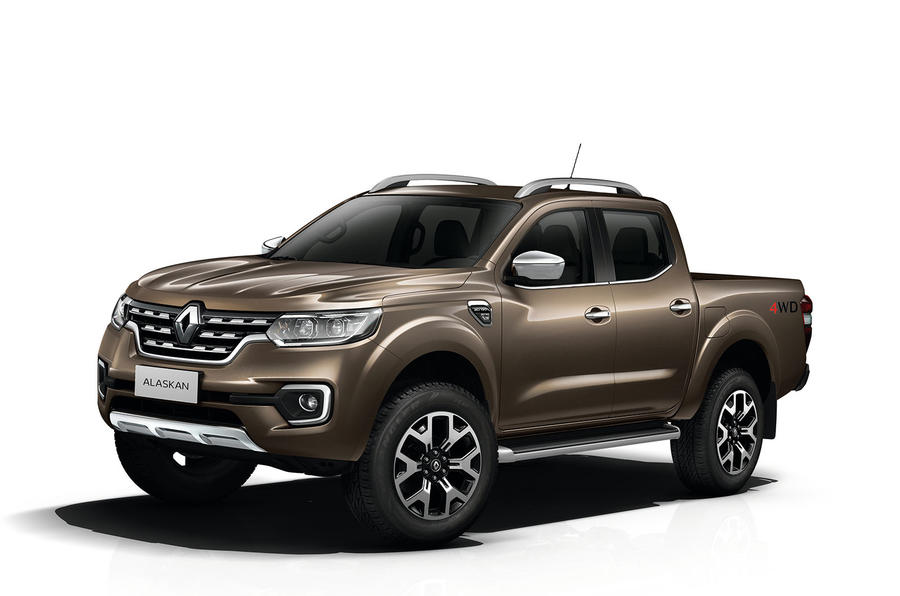 2016 Renault Alaskan pick-up shown in Paris | Autocar
