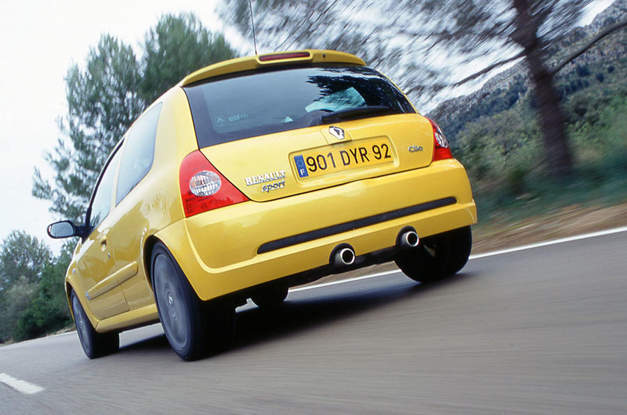 renault sport clio used car buying guide autocar. Black Bedroom Furniture Sets. Home Design Ideas