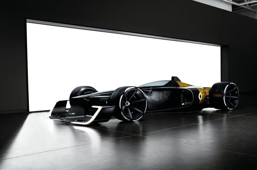 Renault reveals its concept for 2027 F1