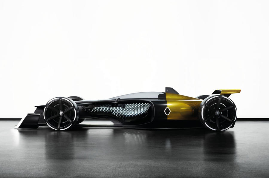 Renault's vision of F1 in 2027