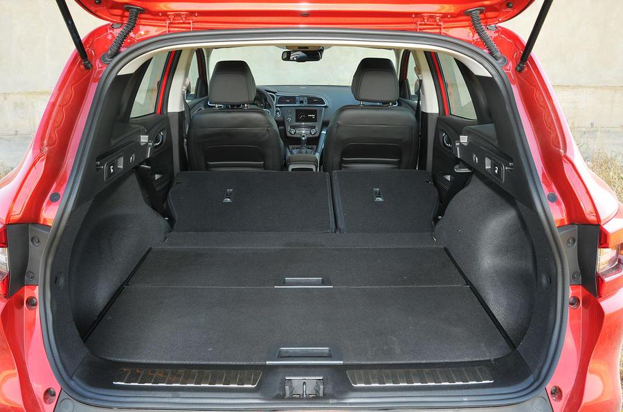 Renault Kadjar extended boot space