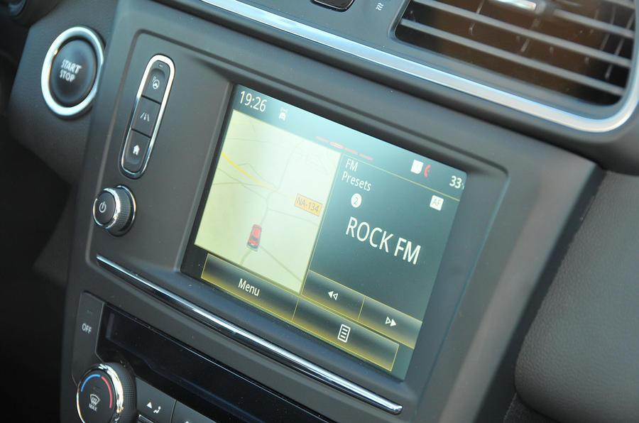 Renault Kadjar infotainment