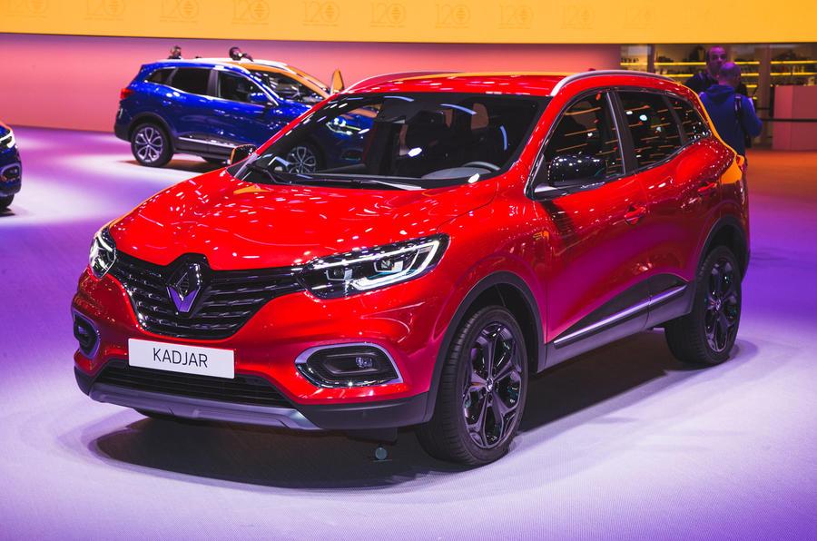 Facelifted Renault Kadjar