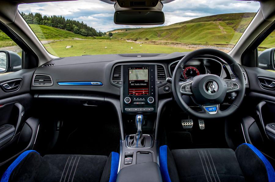 Renault Megane GT Nav dashboard