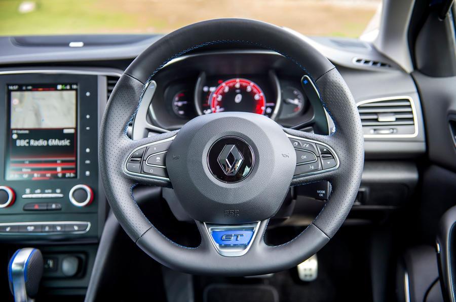 Renault Megane GT Nav steering wheel