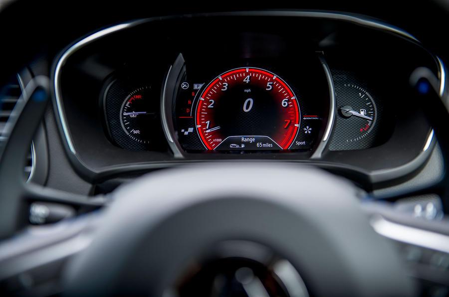 Renault Megane GT Nav instrument cluster