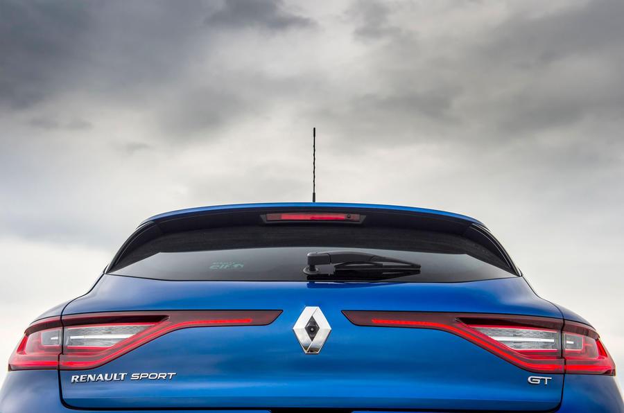 Renault Megane GT Nav rear end