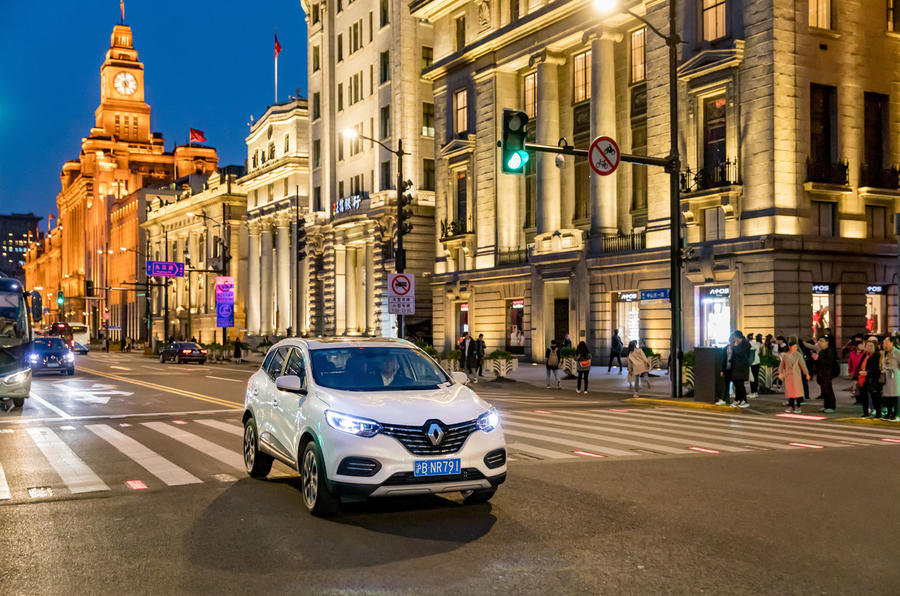 Renault cars in China