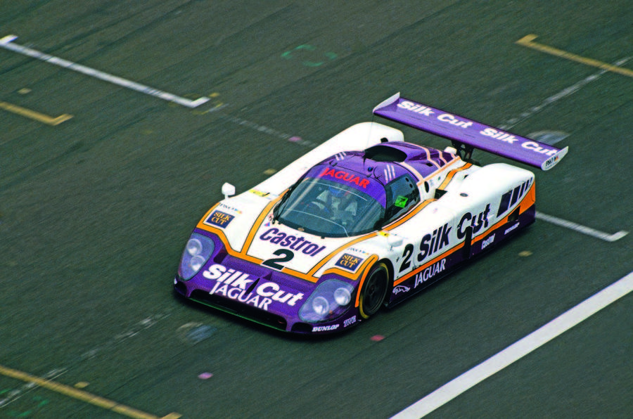 Jaguar XJR-9 Le Mans racer