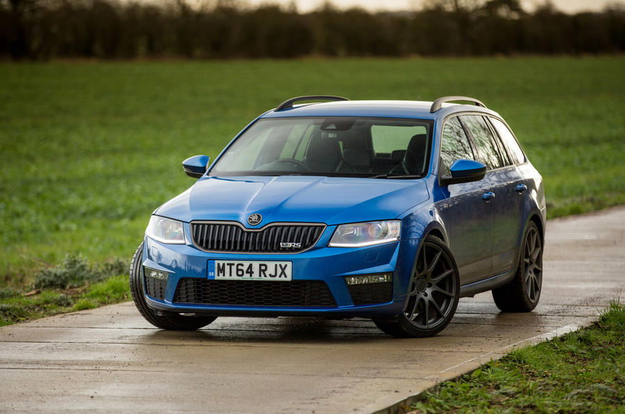 4 star Skoda Octavia vRS by Revo Technik