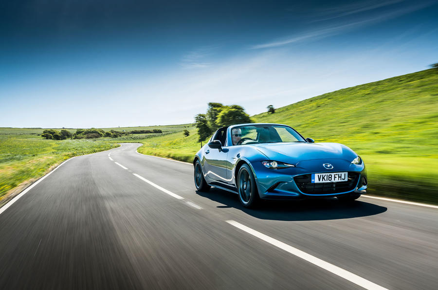 Mazda MX-5 RF Sport Black launched as limited-run variant