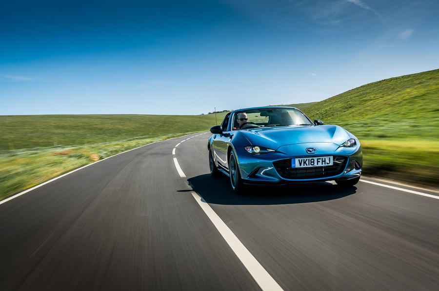 Mazda MX-5 RF Sport Black Edition unveiled