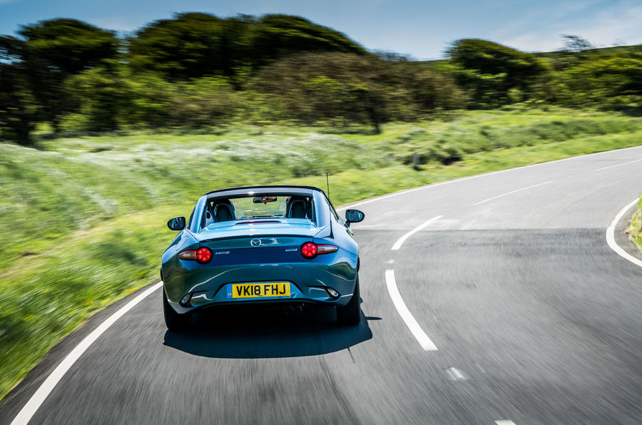Limited-edition Mazda MX-5 RF Sport Black announced