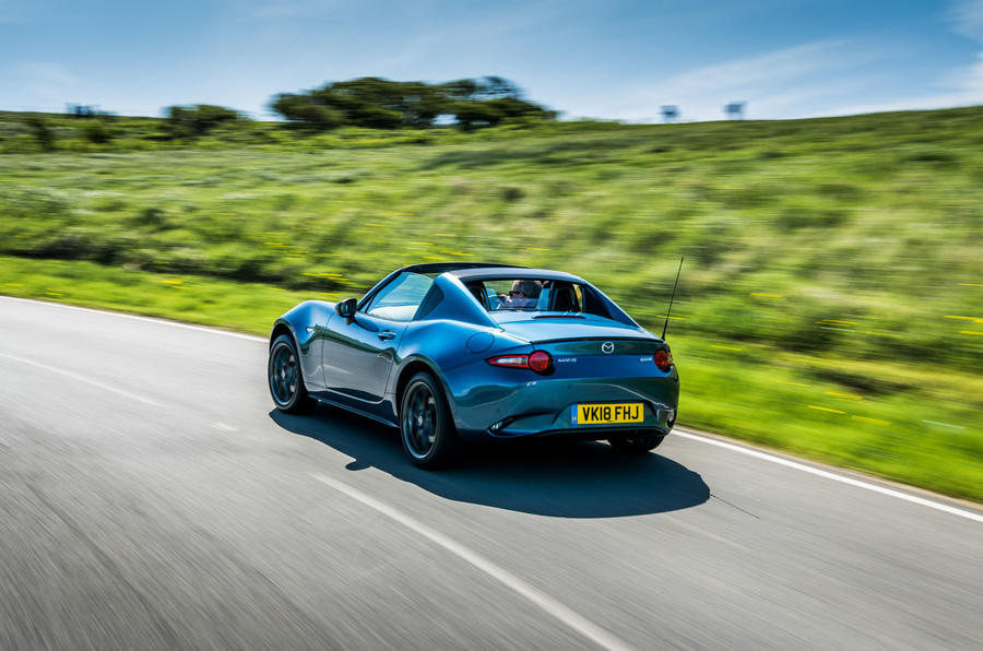 Mazda MX-5 RF Sport Black on sale from 28th May