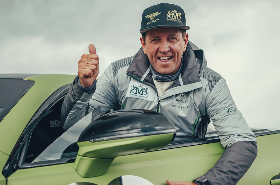 Bentley Continental GT pikes peak 2019 record holder - Rhys Millen