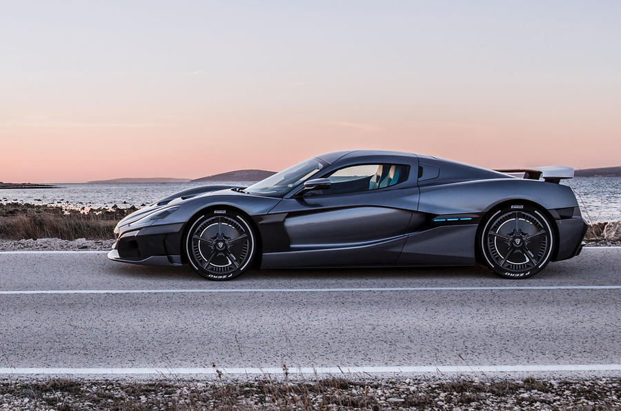Rimac Concept Two side profile