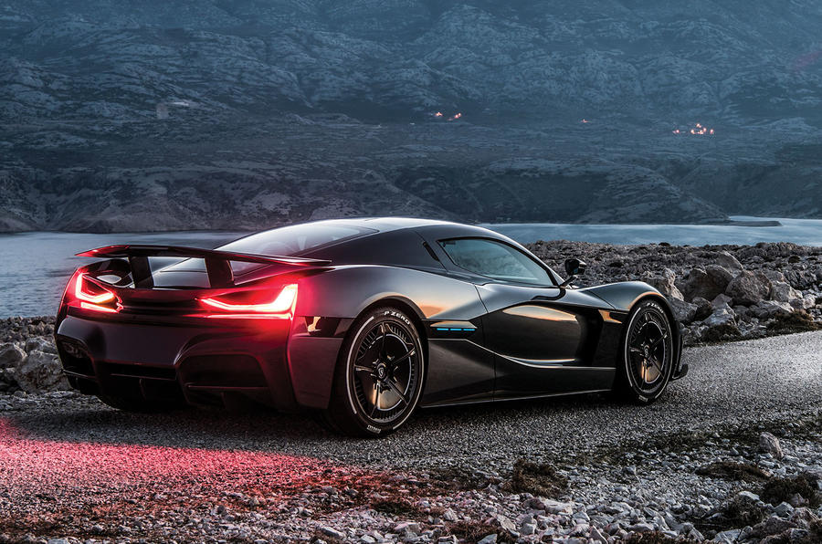 Rimac unveils the 1900 HP Concept Two electric hypercar