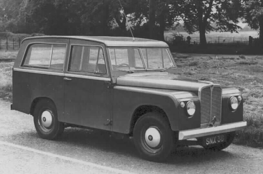 1960s Road Rover estate car