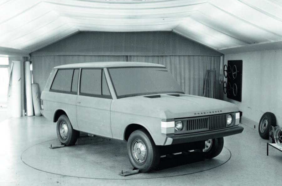 Original Range Rover clay model